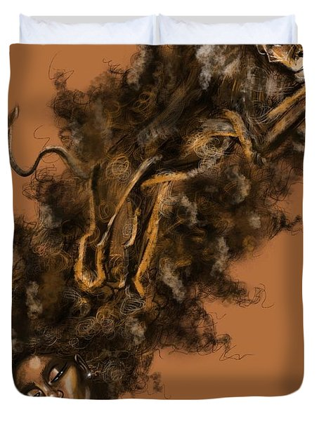 Courageous Me Duvet Cover