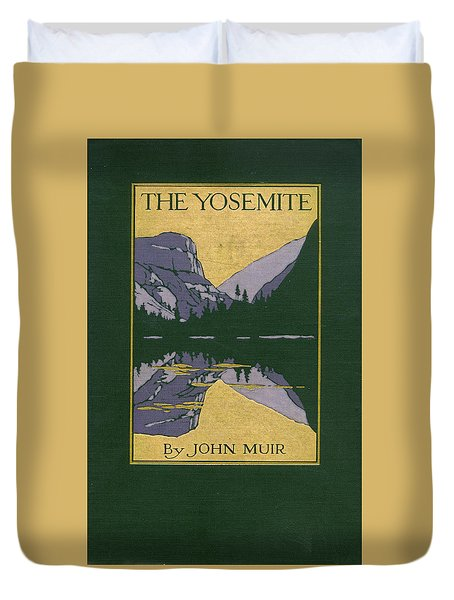 Cover Design For The Yosemite Duvet Cover