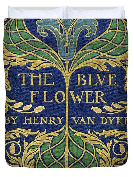 Cover Design For The Blue Flower Duvet Cover