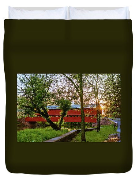 Covered Through Tree Duvet Cover