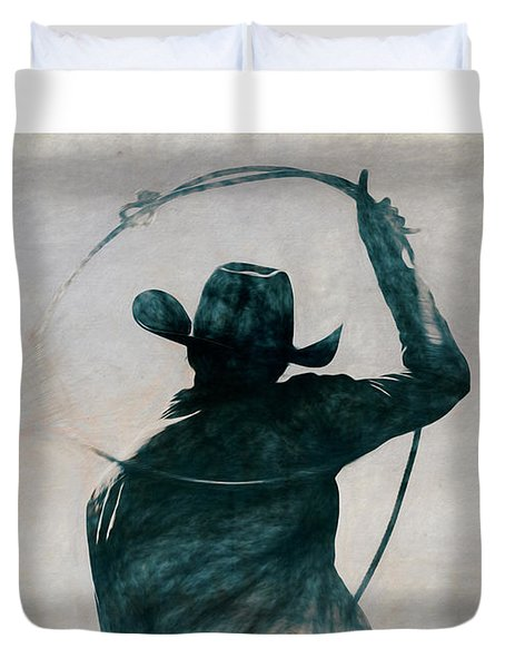 Cowgirl Blue Duvet Cover