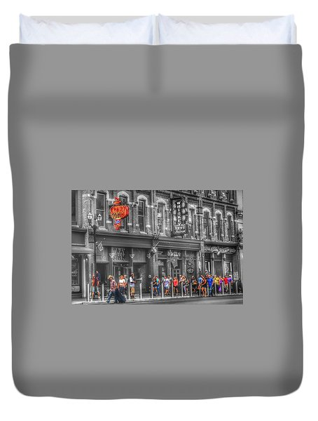 Crazy Town Duvet Cover