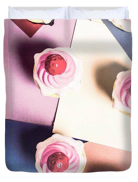 Cream Of The Top Duvet Cover