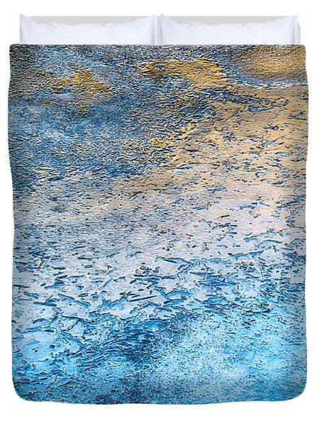 Creek Ice Duvet Cover