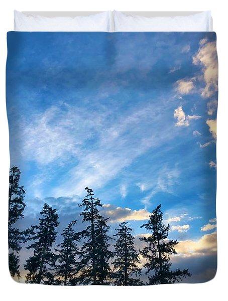 Crisp Skies Duvet Cover