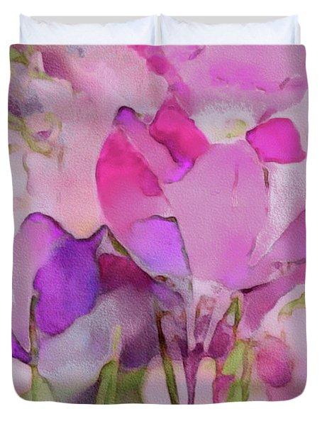 Crocus So Pink Duvet Cover