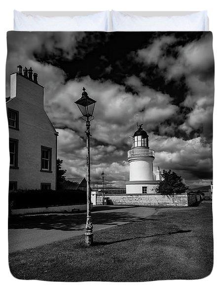 Cromarty Lighthouse Duvet Cover