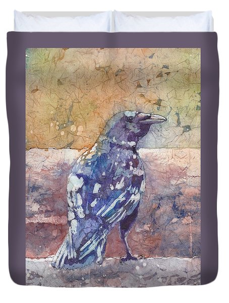 Crow Duvet Cover