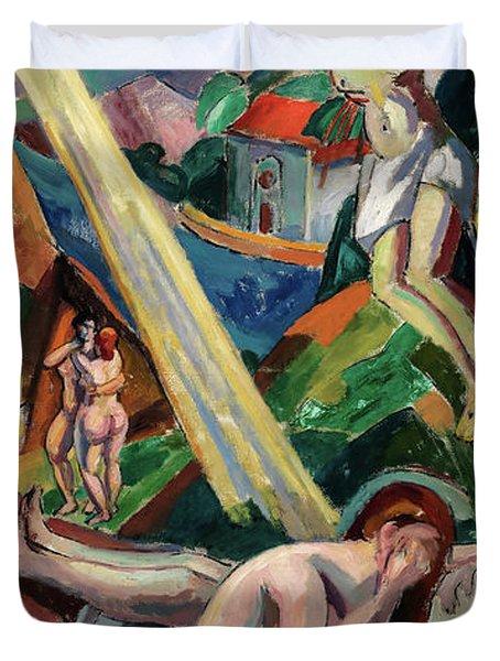 Crucifixion, 1932 Duvet Cover
