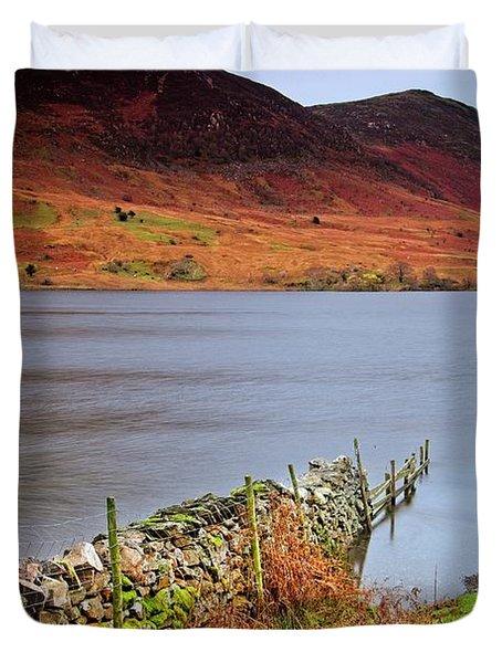 Crummock Water - English Lake District Duvet Cover