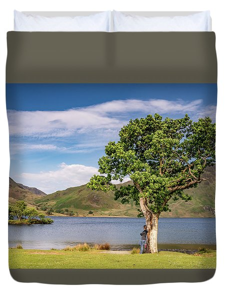 Crummock Water View Duvet Cover