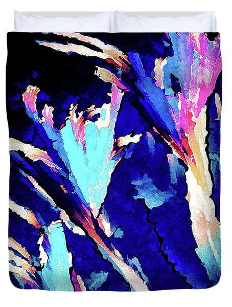 Crystal C Abstract Duvet Cover