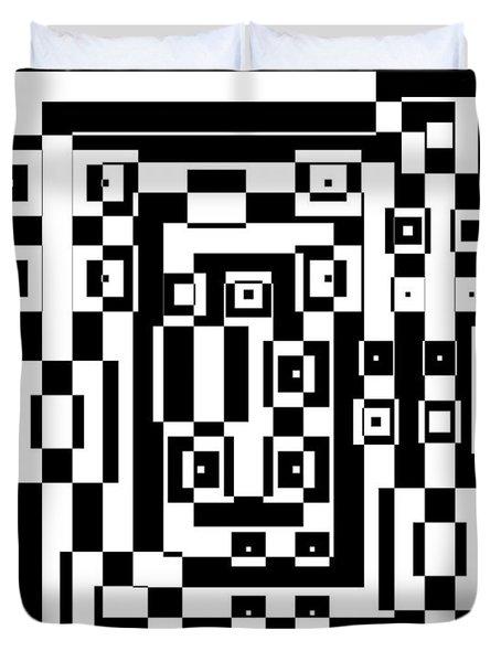 Cubical Cubes  Duvet Cover