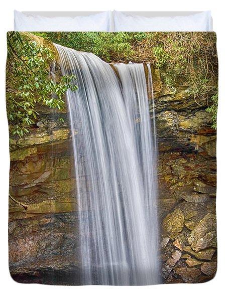 Cucumber Falls Duvet Cover