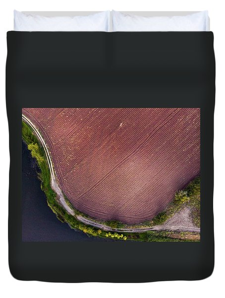 Curved Pathway Duvet Cover