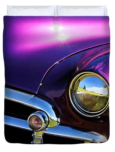 Custom Purple Chevy Duvet Cover
