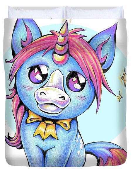 Cute Unicorn I Duvet Cover