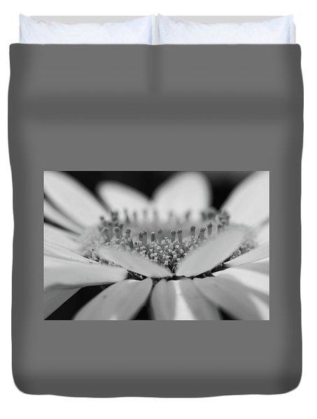 Daisy Flower Macro Duvet Cover