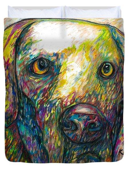 Daisy The Dog Duvet Cover