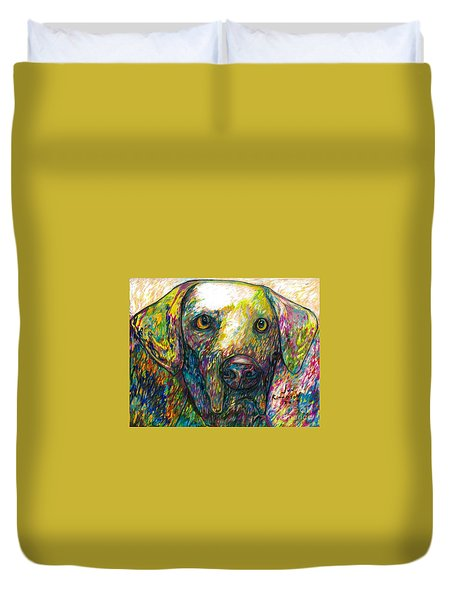 Daisy The Dog Duvet Cover