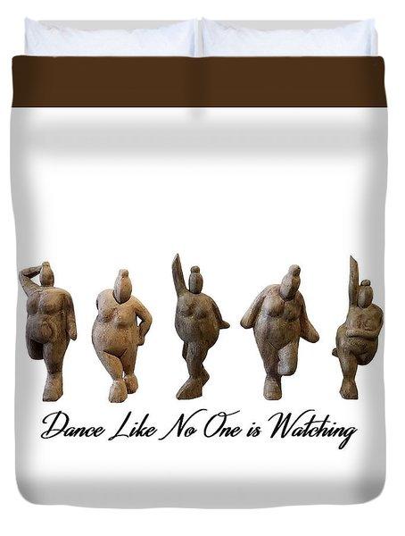 Venus - Dancing Crones Duvet Cover