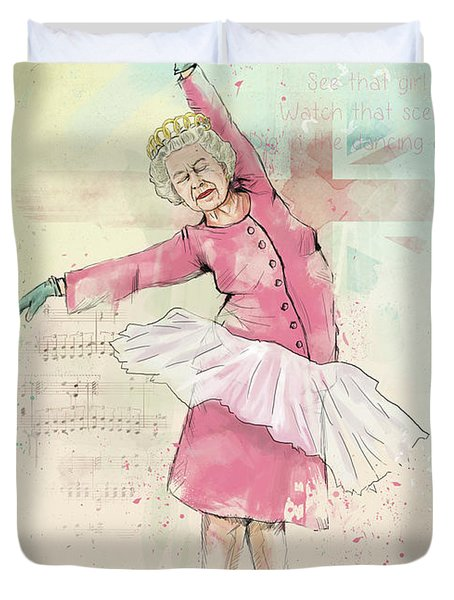 Dancing Queen Duvet Cover