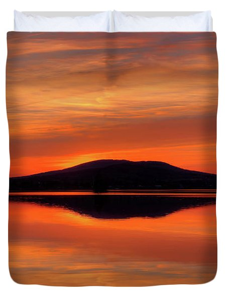 Dan's Sunset Duvet Cover