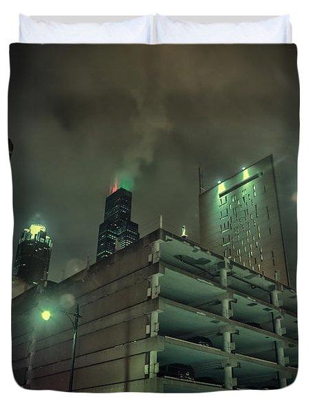 Dark City Duvet Cover