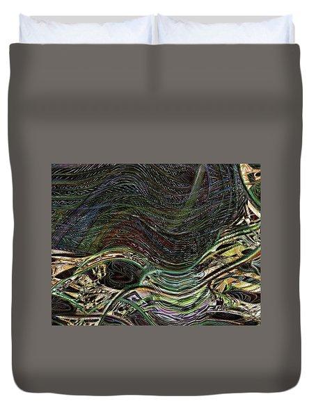 Dark Rainbow Duvet Cover