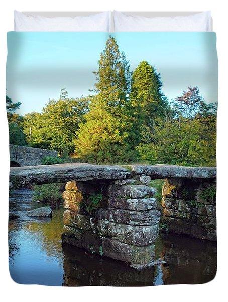 Dartmoor Clapper Bridge Duvet Cover