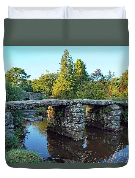 Dartmoor Clapper Bridge Duvet Cover