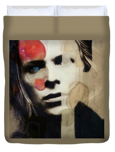 David Bowie - This Is Not America  Duvet Cover