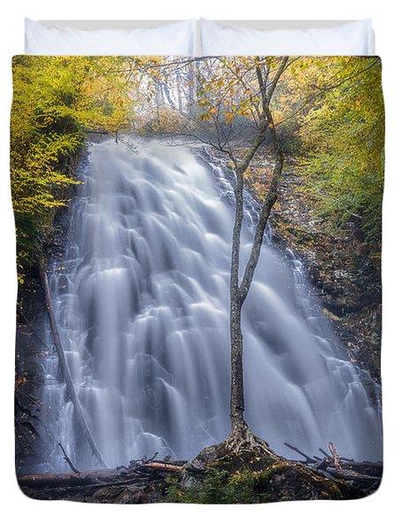 Dawn At Crabtree Falls Duvet Cover