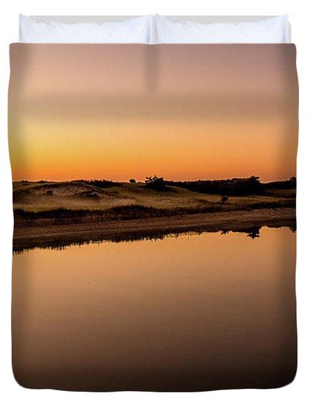 Dawn Light, Ogunquit River Duvet Cover