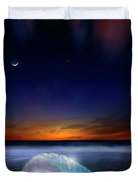 Dawn Of A Warrior Duvet Cover