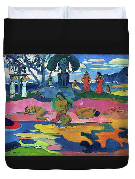 Day Of The God - Digital Remastered Edition Duvet Cover
