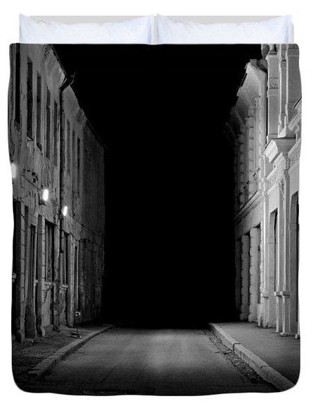 Deadend Alley Duvet Cover