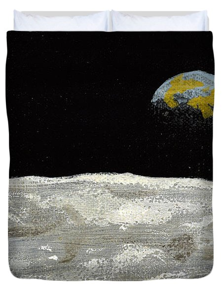 Death By Starlight Duvet Cover