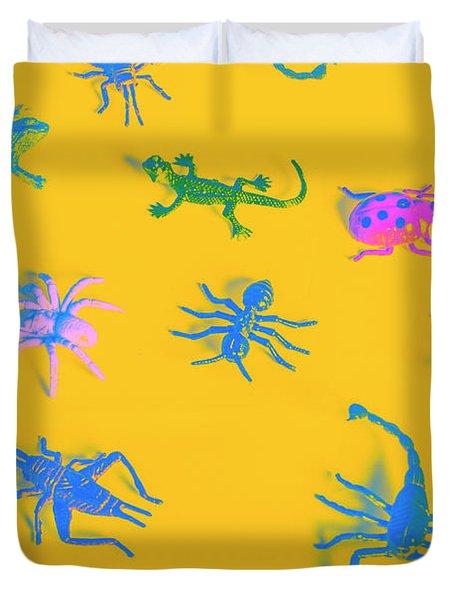 Decorative Creatures Duvet Cover