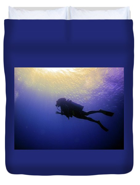 Deep Ascent Duvet Cover