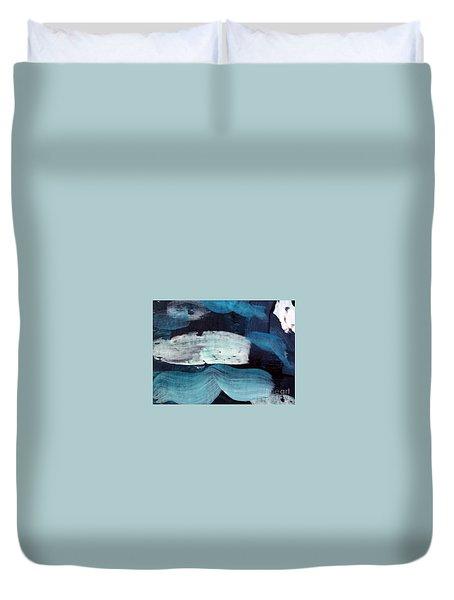 Deep Blue #3 Duvet Cover