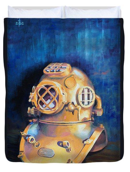 Deep Dive Duvet Cover