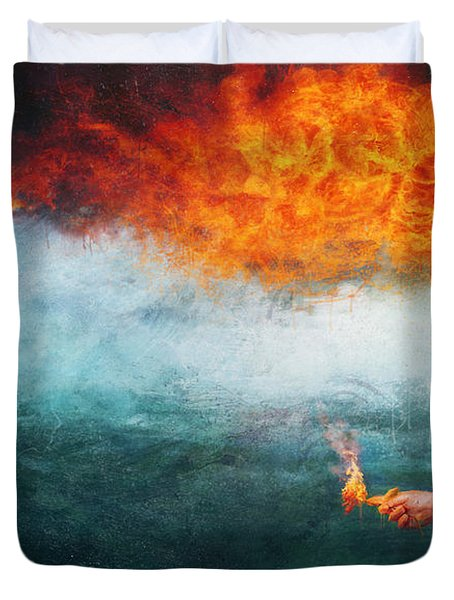 Deep Duvet Cover