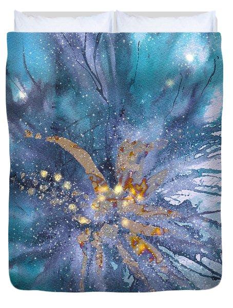 Deep Ocean Waterworld Duvet Cover
