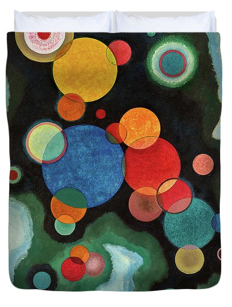 Deepened Impulse, Vertiefte Regung, 1928 Duvet Cover