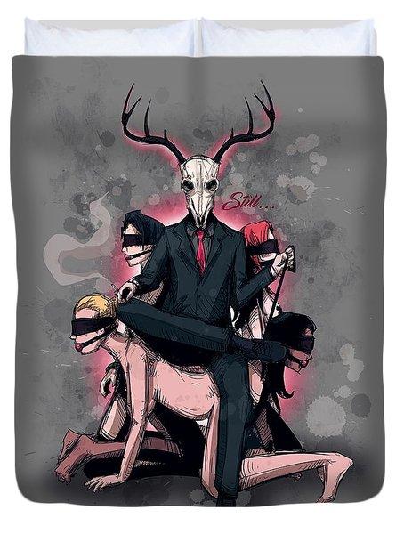 Deer Daddy 2 Sub Chair Duvet Cover