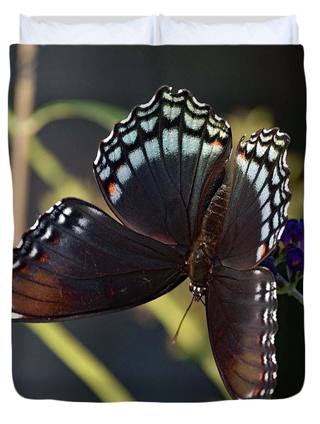 Delicate Beauty Red-spotted Purple Duvet Cover