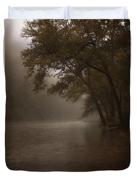 Depth Of Solitude  Duvet Cover