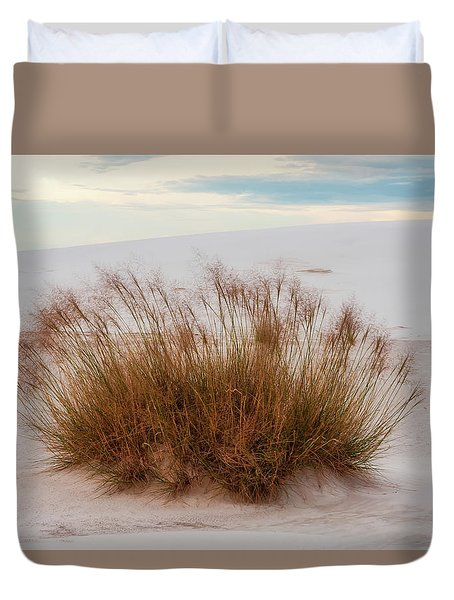 Duvet Cover featuring the photograph Desert Dwelling by Rick Furmanek