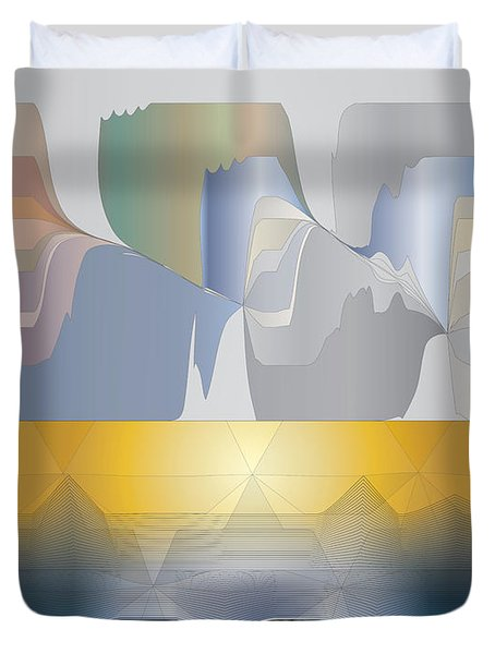 Desert Filter Box Duvet Cover